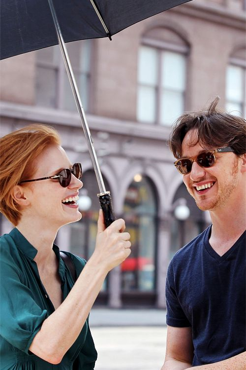 Jessica Chastain James McAvoy, ginger power.