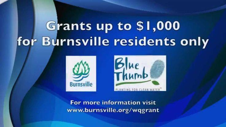 #Burnsville, Minnesota offers rain garden classes.