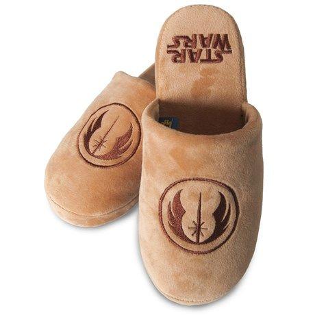 Selv en Jediridder må få slappe av i myke tøfler!