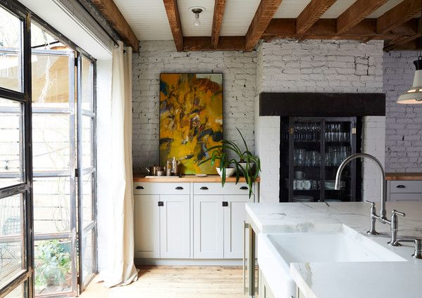 A Place To Gather - Designer Chris Benz's Colorful Brooklyn Brownstone - Photos