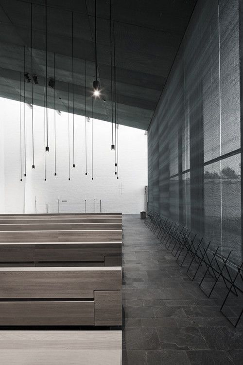 """"""" Chapel of St.Lawrence by Avanto Architects, Ville Hara and Anu Puustinen. http://www.archdaily.com   """""""