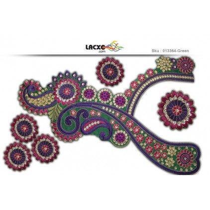 Neck Designs - 013364 Rs184.00 / 1 Pcs
