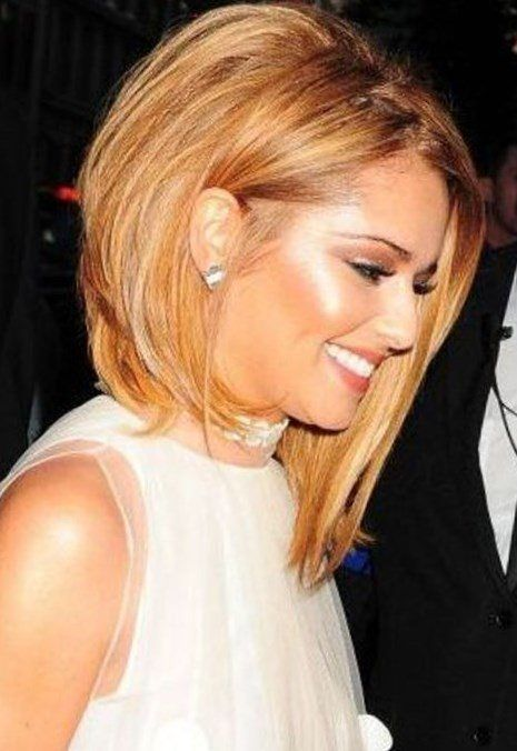 Neue Mode Frisuren: Blonde asymmetrische Frisuren 2017