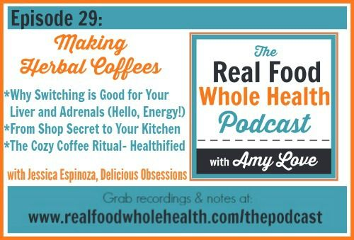 Interview on the Real Food Whole Health Guest Podcast