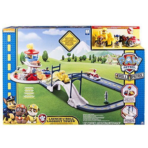 """Paw Patrol 6028063 """"Launch 'n Roll Lookout Tower"""" Track P... https://www.amazon.co.uk/dp/B01GG7L7U2/ref=cm_sw_r_pi_dp_x_pCGgybP67H82B"""