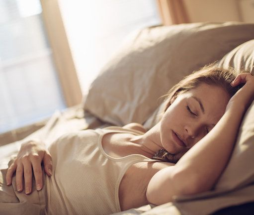 Can sleeping on your back delay the signs of ageing? They don't call it beauty sleep for nothing!