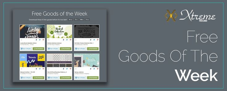 Free Goods Of The Week  Apr.03 #xtremefreelance #wordpressdevelopment