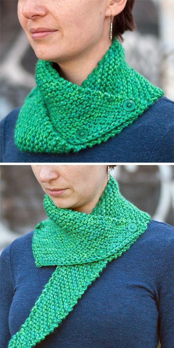 Neckwarmer Knitting Patterns Easy Knitting Free Knitting