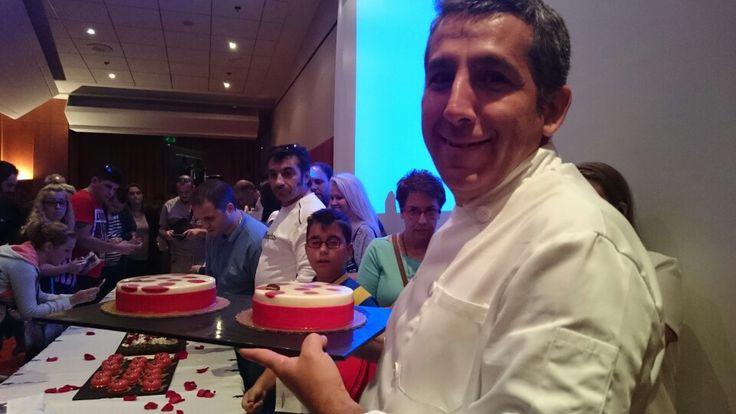 Περήφανος Chef Pâtissier Laurent Moreno
