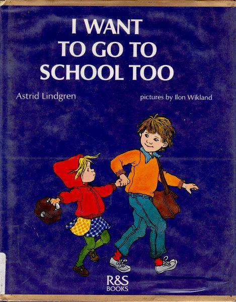 Astrid Lindgren Swedish vintage kids book I by OnceUponABookshop, $8.00