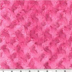 Minky Cuddle Rose Hot Pink