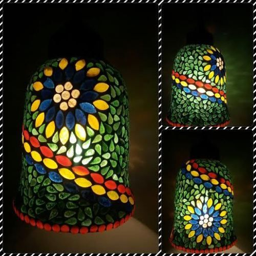 Mosaic Hanging...... Each & every part of this product is beautifully hand crafted. @........http://www.deshilp.in/