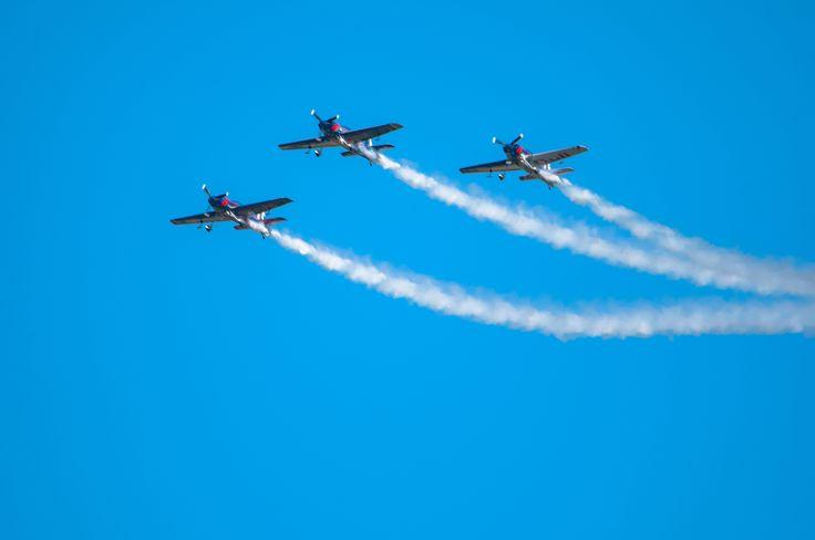"""""""""""Flying Bulls Aerobatic Trio"""""""" by Graziella Serra Art & Photo on 500px"""
