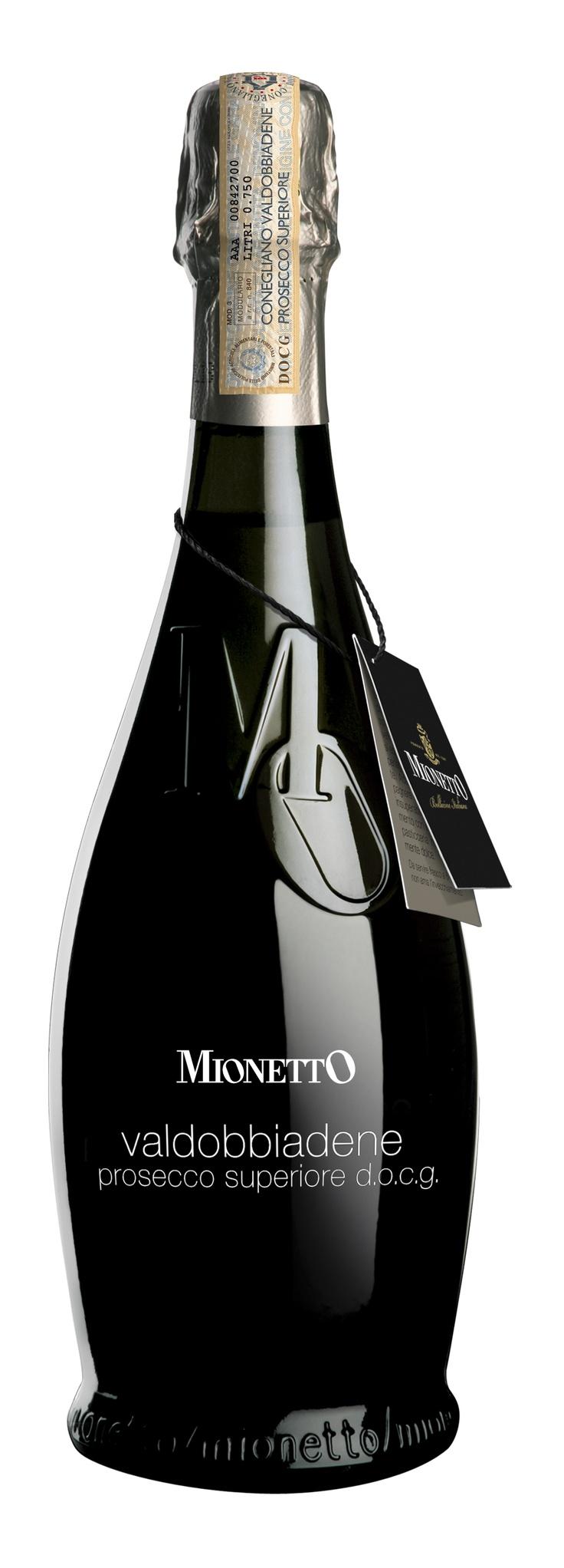 Mionetto Valdobbiadene Prosecco Superiore DOGC. Lovely IMPDO. #Packaging #Design