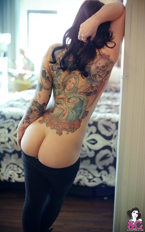 Hot Ass Tattoo 106