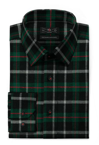 Green flannel checked Shirt http://www.tailor4less.com/en-us/men/shirts/4333-green-flannel-checked-shirt