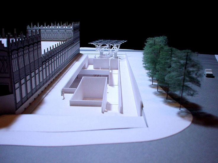 271 best architect arata isozaki images on pinterest for Caixa d enginyers oficines barcelona