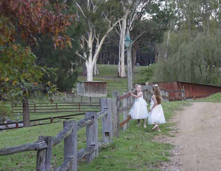 The joy of exploring at a Country Wedding