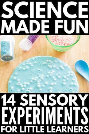 Fun with Science: 27 Sensory Science Experiments for Kids