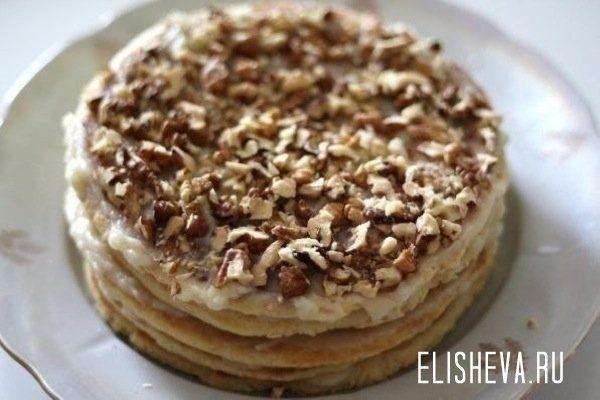 Быстрый тортик на сковородке за полчаса. Рецепт с пошаговым фото | Блог elisheva.ru