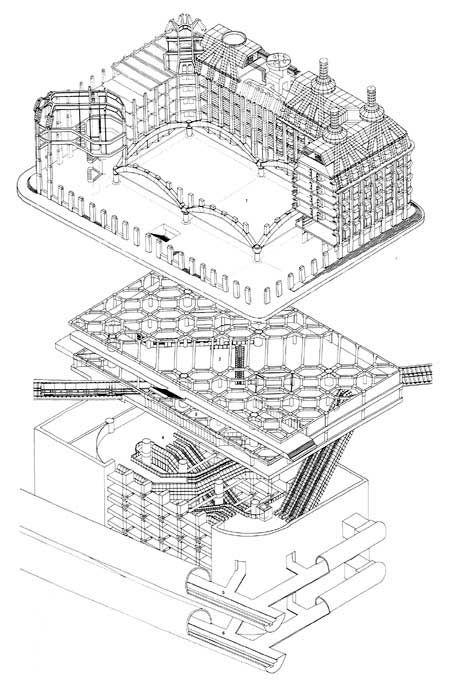 portcullis house section - Google Search