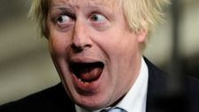 Boris Johnson succeeds in his bid for a Commons comeback  Boris Johnson has succeeded in his bid for a Commons comeback after winning the seat for Uxbridge and South Ruislip in west London.  I cannot believe people were deluded and insane enough to vote for this vile, dangerous, horrible creature.