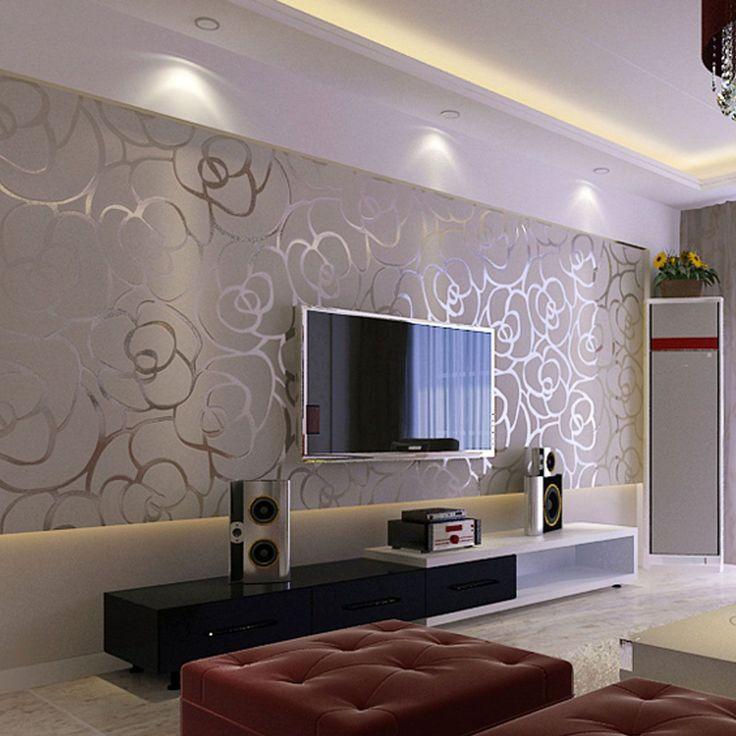 Modern Wallpaper Living Room, Modern Living Room Wallpaper