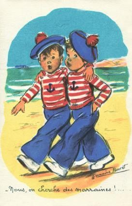 """Germaine Bouret """" Nous, on cherche des marraines ! """""""