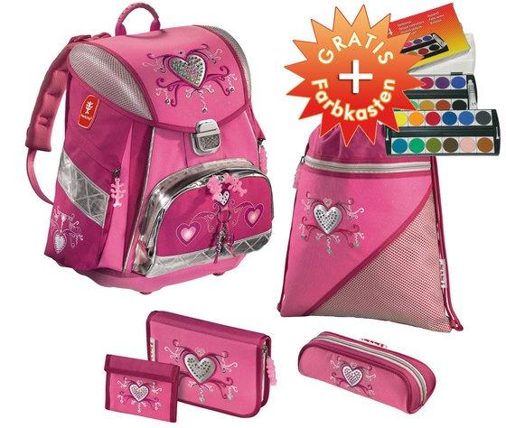 Step by Step TOUCH Schulrucksack / Schulranzen Set 5 tlg. Pink Romance - versandkostenfrei!