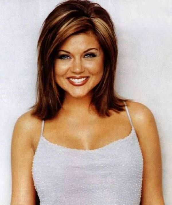 tiffani amber thiessen hair color