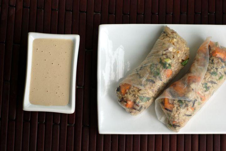 Quinoa Wraps with Sweet Potato, Tofu Feta and a Sweet ...