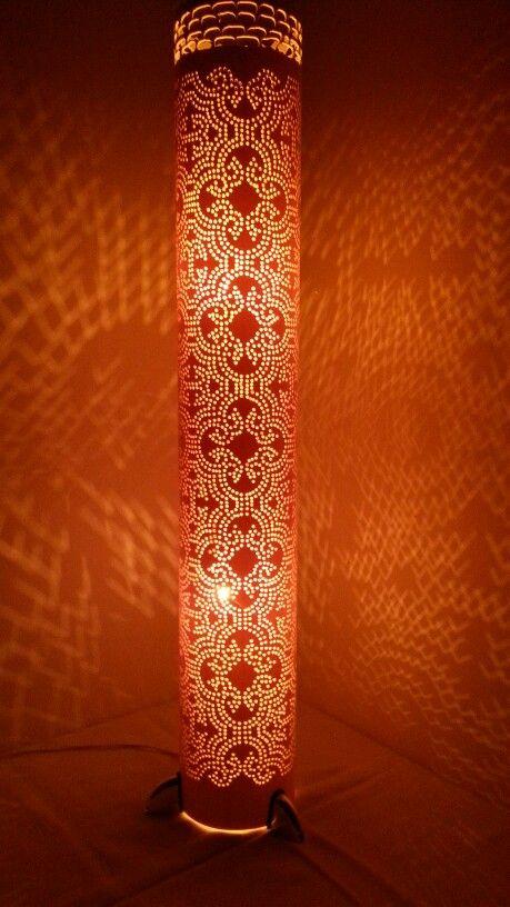 Luminária em PVC de Coluna.