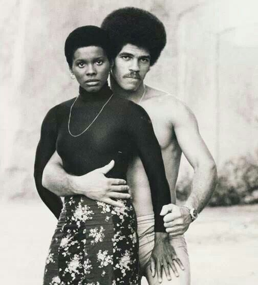 Gloria Hendry and Jim Kelly - American actor and martial artist Jim Kelly and actor Gloria Hendry in the film Black Belt Jones1974 #sport #movie #actor