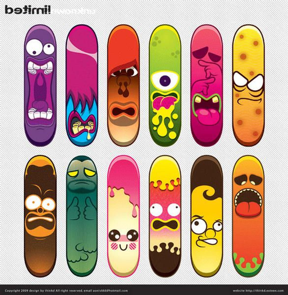 122704xcitefun skateboard designs 19jpg 586600 - Skateboard Design Ideas