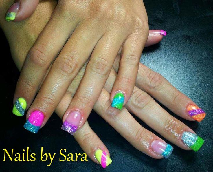 25+ trending Neon acrylic nails ideas on Pinterest ...