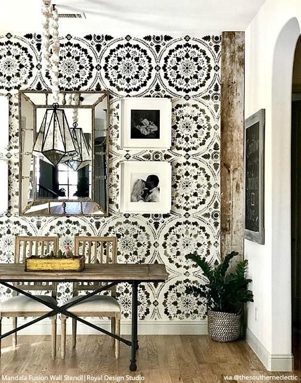 25 DIY Ideas For Your Room Inspiring Home Decorating Projects With Wall Stencils Floor