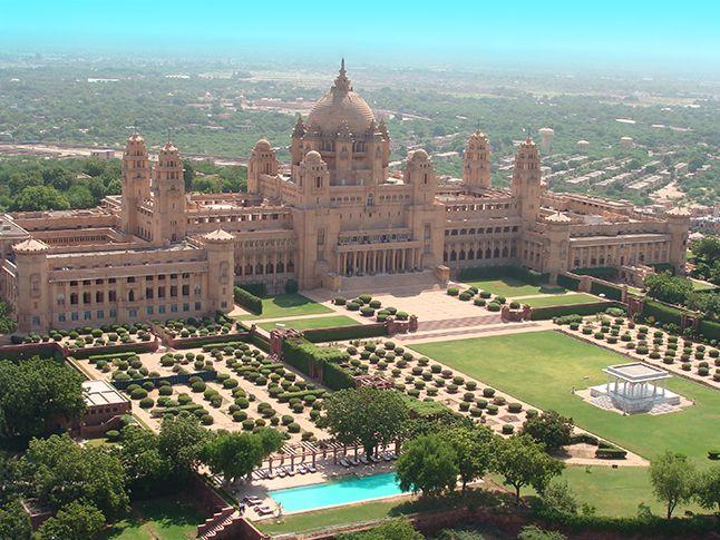Umaid Bhawan Palace Jodhpur, Rajasthan, India #luxury #hotels #India