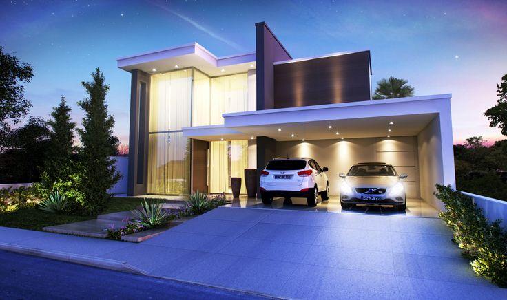 Afonso Condi - Arquitetura - Project - Projeto de Residência no Condomínio Lago Sul, em Bauru - SP