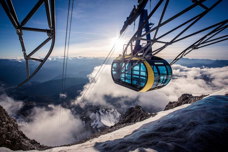 The Dachstein panorama gondola - a fascinating glacier