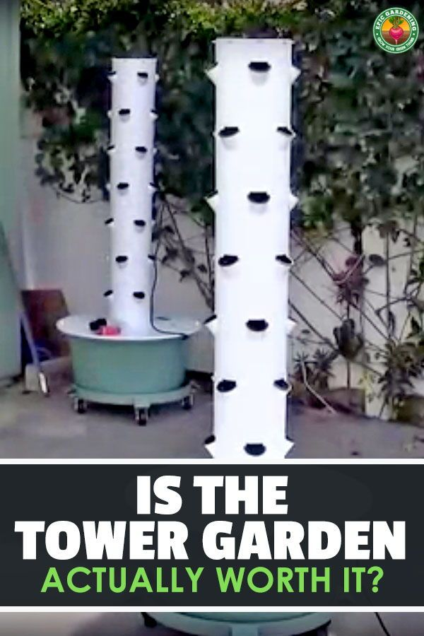 Tower Garden Review Tower Garden Tower Garden Diy Container