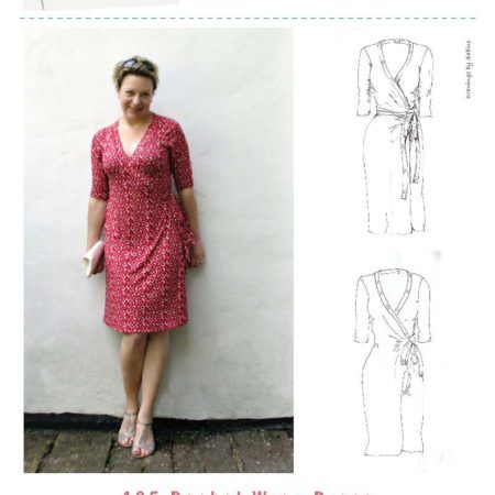 The Rachel Wrap Dress Sewing pattern is just what you want in your everyday - and special occasion - wear. It's stylish, it's flattering, it's comfortable!