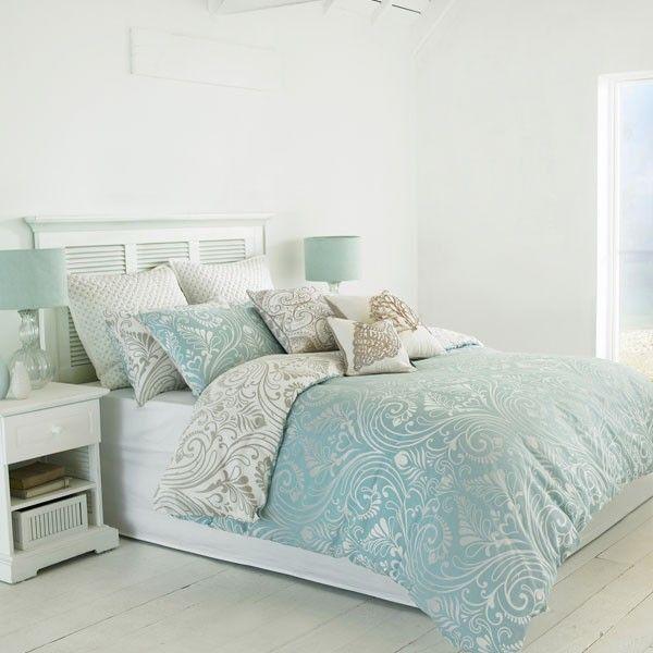 Paoletti Chatsworth Damask Duvet Cover Set Blue Single Blue Bedding Sets Bedding Sets Uk Damask Duvet Covers