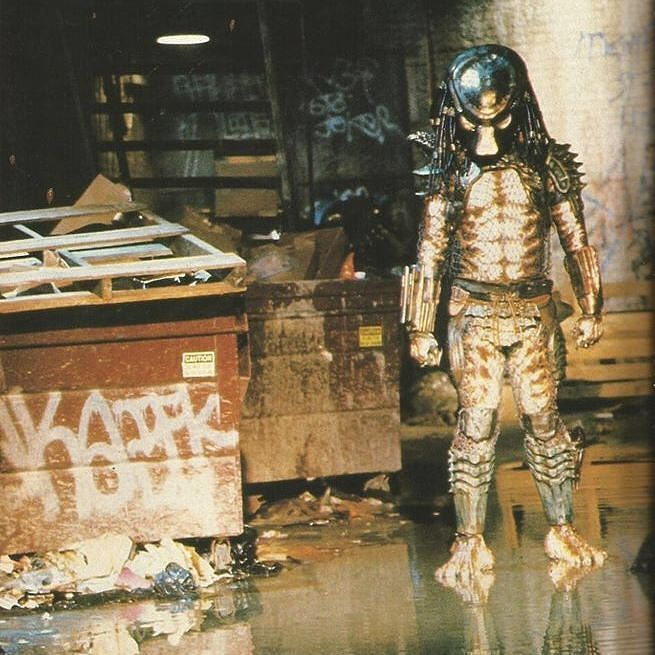 """While much of #Predator had been filmed in remote #Mexican #jungles #Predator2 was shot in the streets of #LosAngeles. But crewmembers were soon longing for the jungle locations. The most horrible places Ive ever had to film in were the alleys in downtown Los Angeles Shane Mahan commented and Predator 2 was shot in a lot of those disgusting alleys. They were dirty and depressing and gross with people peeing on walls. Wed be rigging something and there would be rats there."""" Read more about…"""