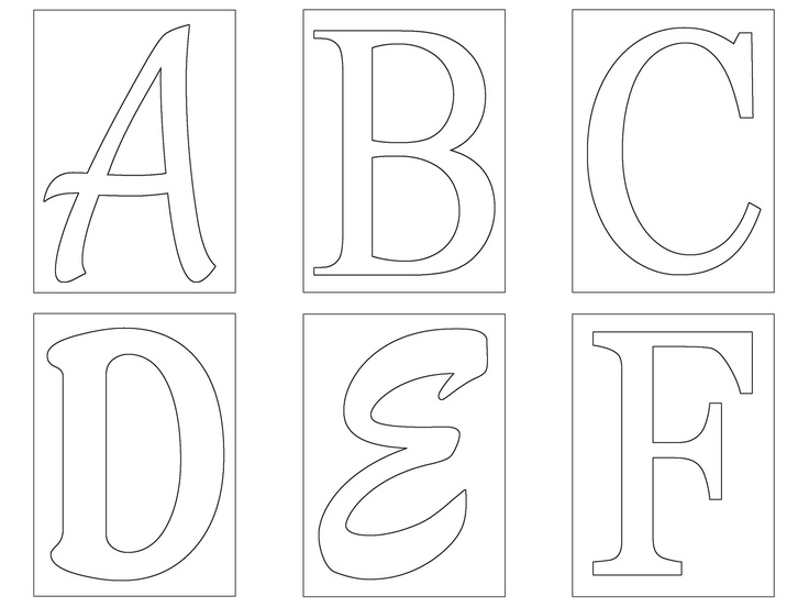letter template stylized bubble letters