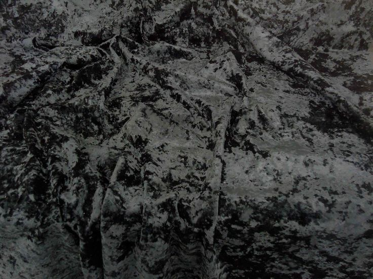 black crushed velvet curtain upholstery fabric clarke u0026 u003ewe recommend a sample of this fabric if colour is important to you as colours on