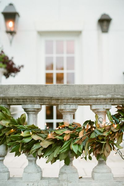 maybe we can do something with magnolia for the ceremony or along the bar as a nod to your grandmother's tree and a sentimental detail