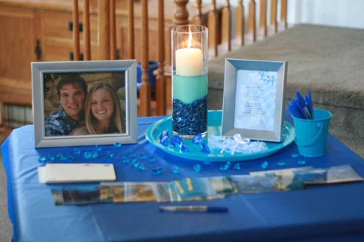 """Erinn's """"Something Blue"""" bridal shower: the details 