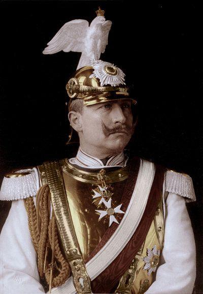 Wilhelm II posing in uniform by KraljAleksandar.deviantart.com on @deviantART