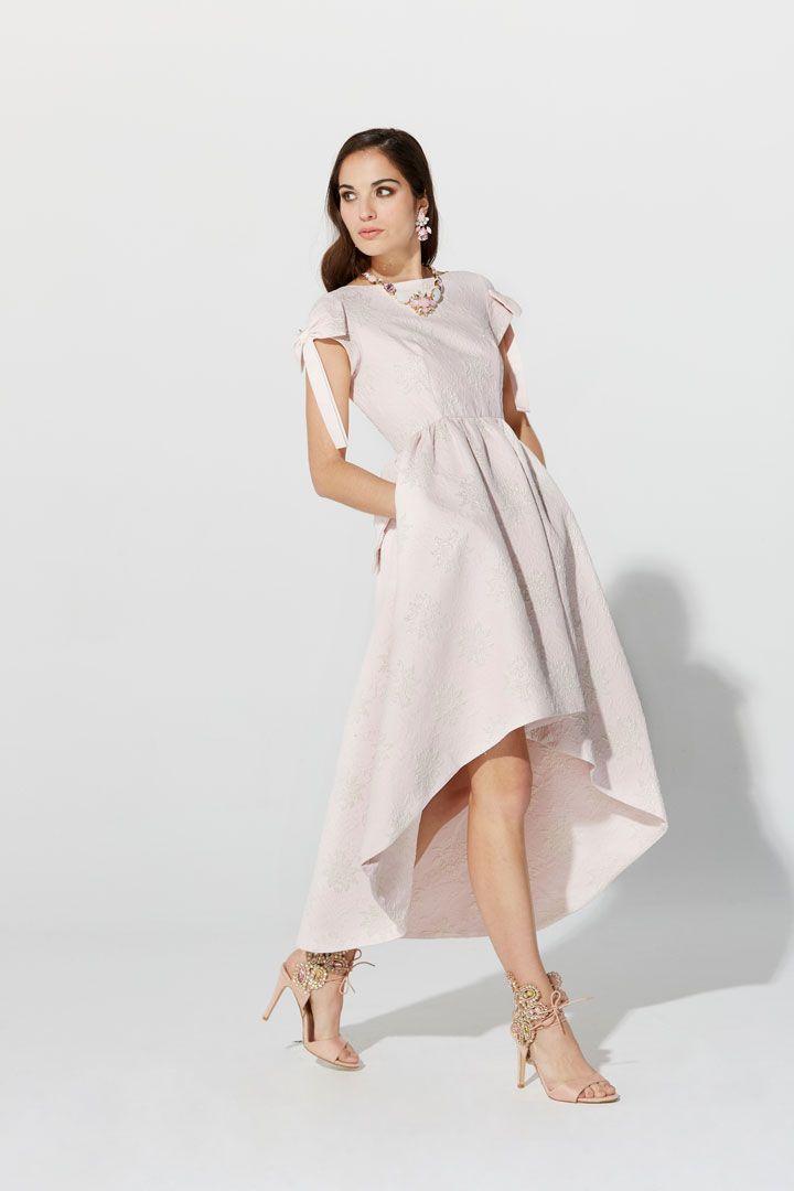 b7a4702aa Vestido de fiesta de la Colección Primavera Verano 2019 de TERIA YABAR