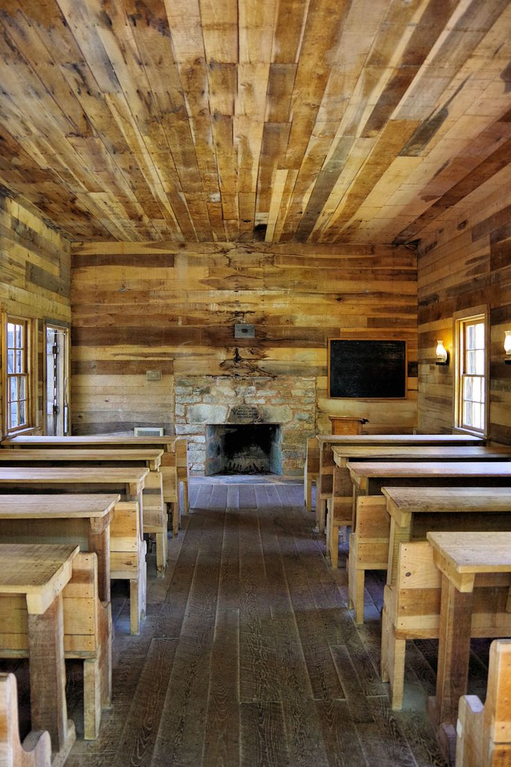 Inside Historic School In Pisgah National Forest The NC Mountains